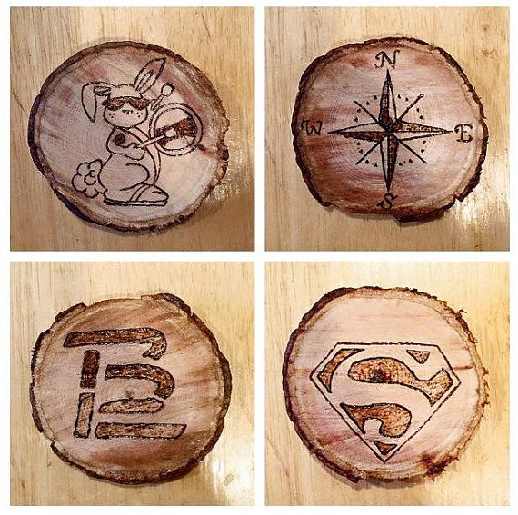 how to make custom wooden coasters