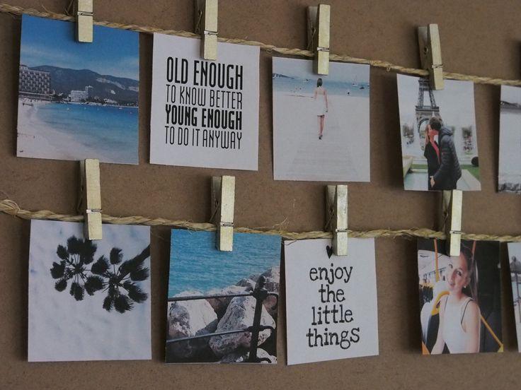 foto's ophangen