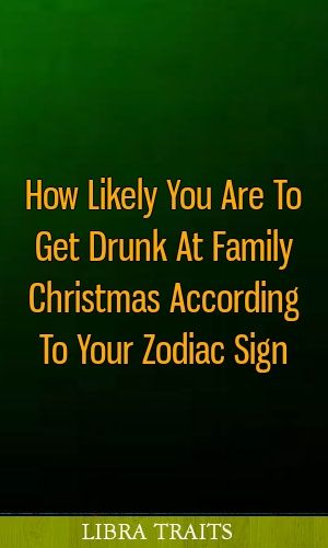 Getting drunk with family idea
