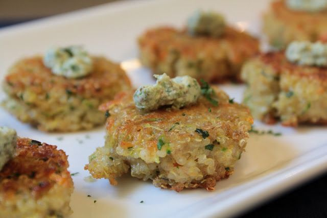 Simply Whole Kitchen: Mini Quinoa Bites {