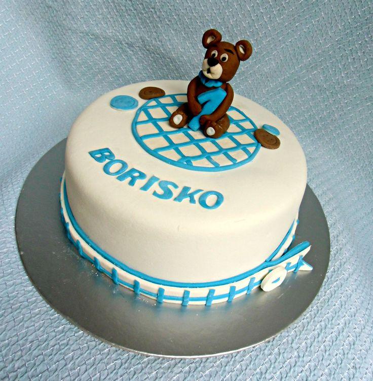 tortička s medvedíkom