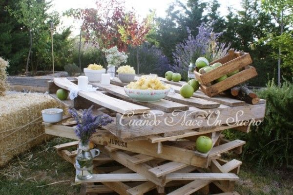Fiesta r stica rustic party fiesta de cumplea os r stica - Ideas para decoracion rustica ...