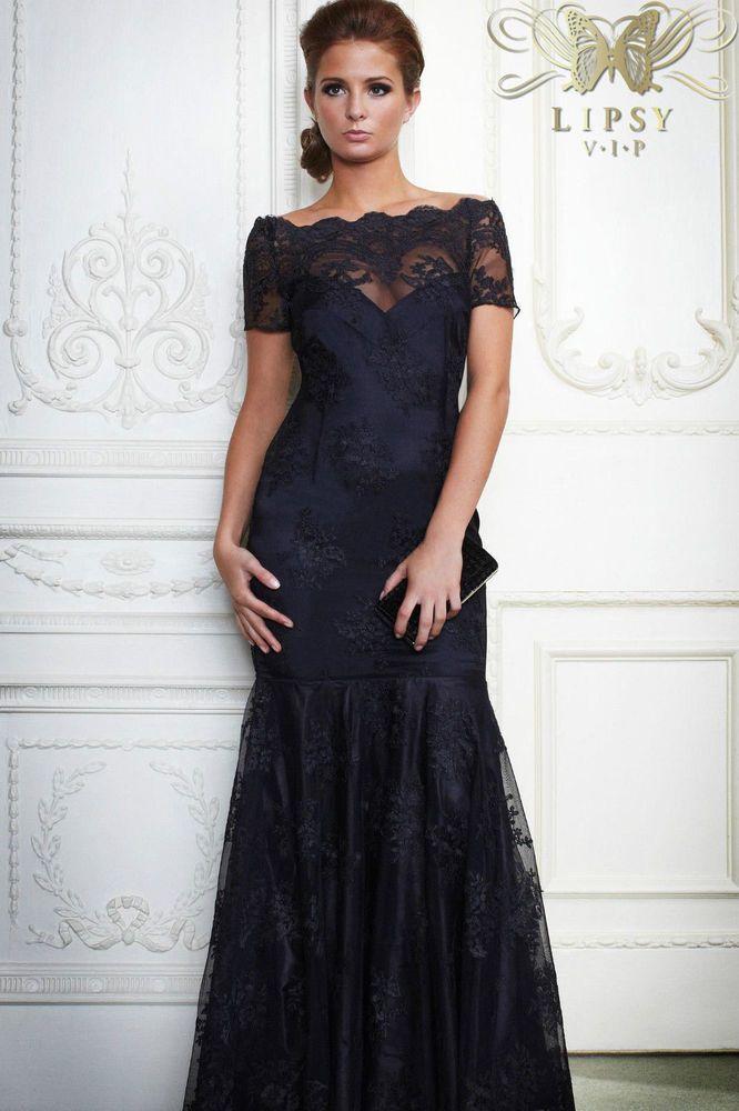 Black one shoulder prom dress uk