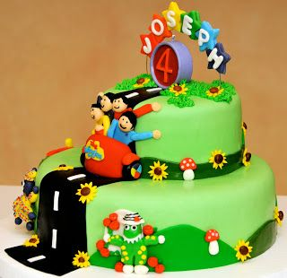Joseph's Wiggly Party | Simply Homemade Cakes