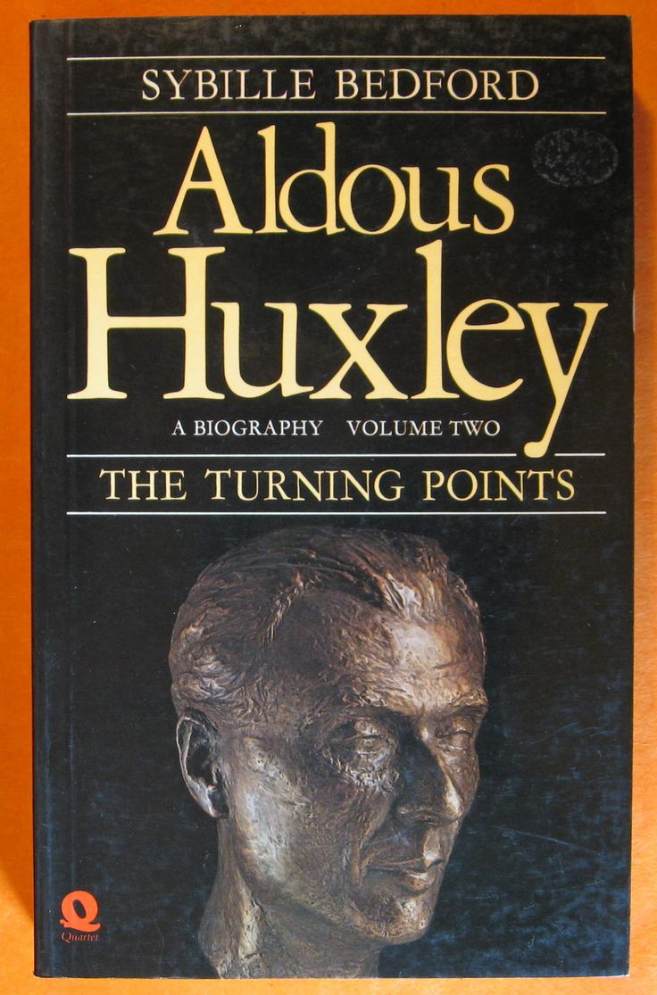 Aldous Huxley, A Biography, Volume Two: The Turning Points 1939-1963 by Sybille Bedford by Pistilbooks on Etsy