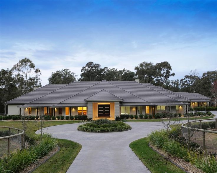 38 best facades exteriors images on pinterest facade for Ranch style homes australia