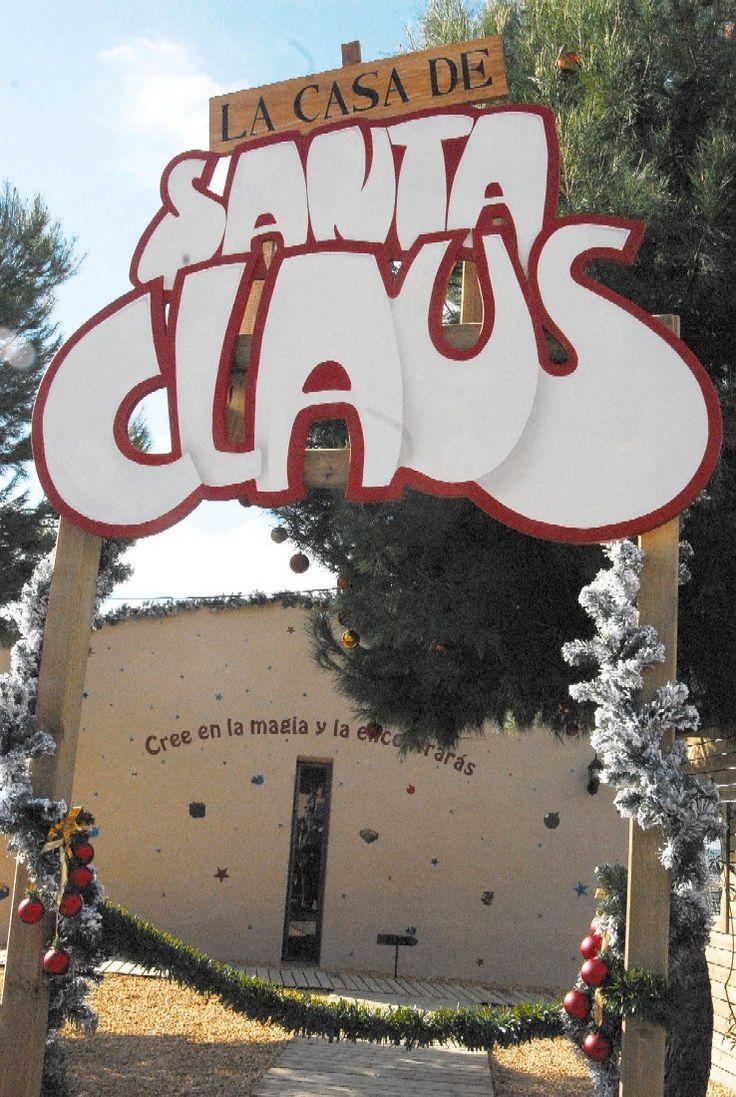 La casa de Santa Claus te espera en el Parque de La Ereta de #Alicante #CostaBlanca