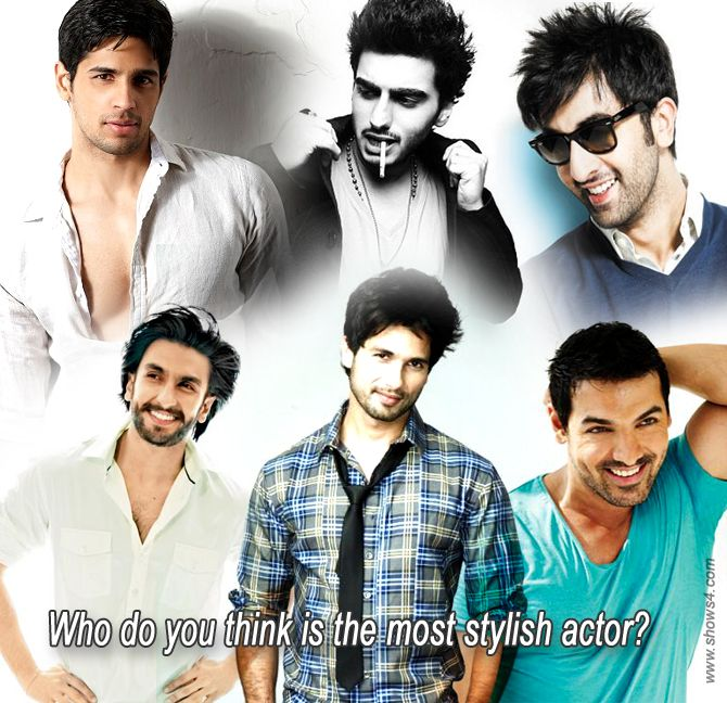 Who do you think is the most stylish actor?