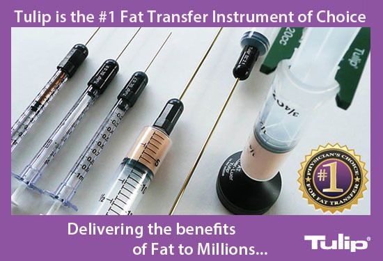Tulip has a 24-year track record in developing devices for harvesting and reinjecting fat. Over the years, Tulip has made its mark on the world through advancing fat transfer instrumentation in unprecedented ways. Tulip…Delivering the benefits of fat to millions! Please visit https://lnkd.in/eecrySG for more information.  #tulipmedical #fattransfer #liposuction #medicaldevice #fatgrafting #fatharvesting #plasticsurgery #plasticsurgeon #cannulas #cosmeticsurgery