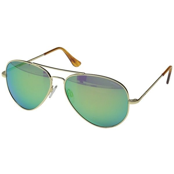 Randolph Concorde 57mm Polarized (Rose Gold Satin/Tan Polarized Glass... ($191) ❤ liked on Polyvore featuring accessories, eyewear, sunglasses, crown sunglasses, glass sunglasses, randolph sunglasses, metal frame sunglasses and glass lens sunglasses