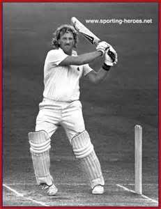 Sir Ian Botham all time great England cricket. - great England player