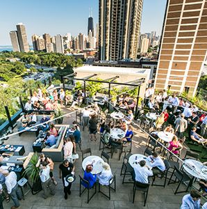 Soak up the scenery and the creative cocktails at these cool new rooftop bars.  (June 2014)