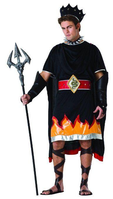 Amazon.com: Hades Greek Mythology Costume Adult Standard: Clothing