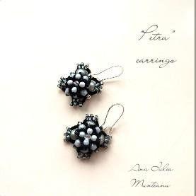 Petra  - Tatting Earrings TUTORIAL