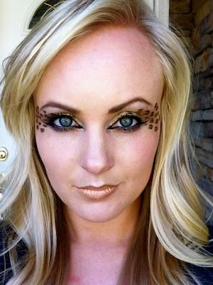 13 best Halloween Cheetah Make-up images on Pinterest | Halloween ...