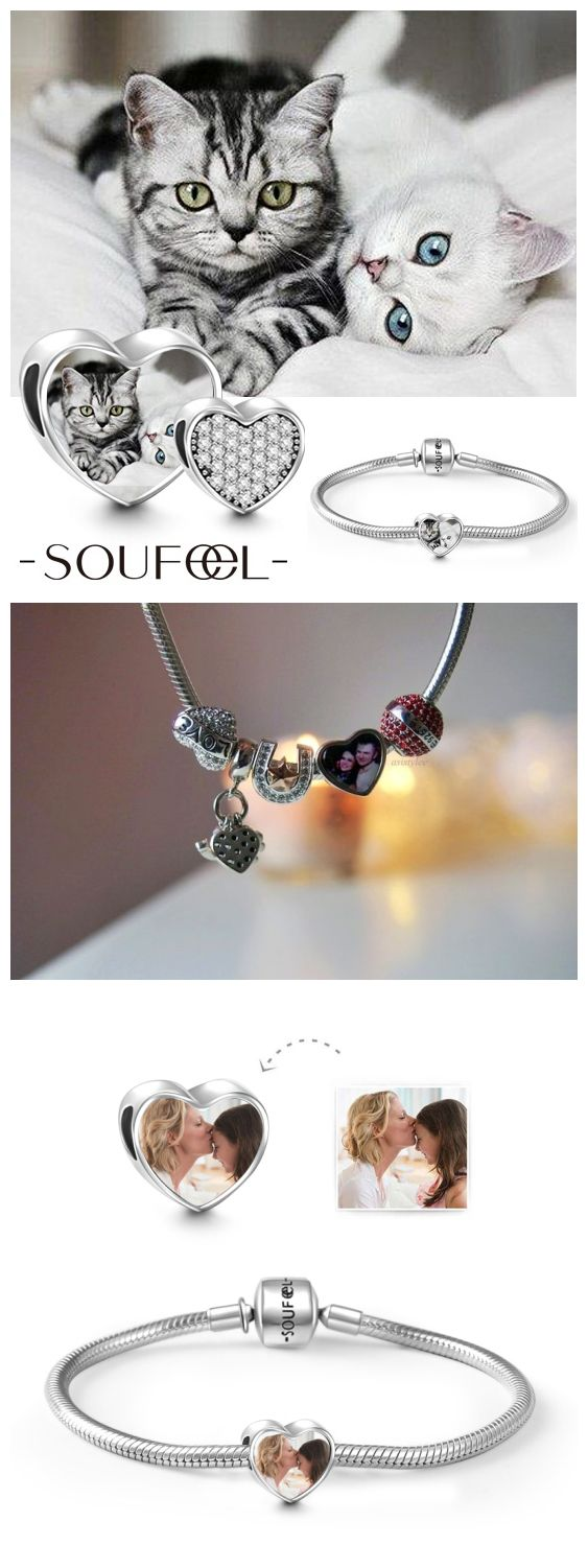 Make a charm of your favorite photo. Soufeel Personalized Charm, for every memorable day.