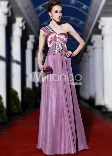 189 best One Shoulder Evening Dresses for Women images on ...