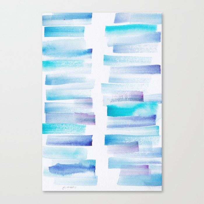 Buy 7 181101 Watercolour Palette Abstract Art Lines Stripes