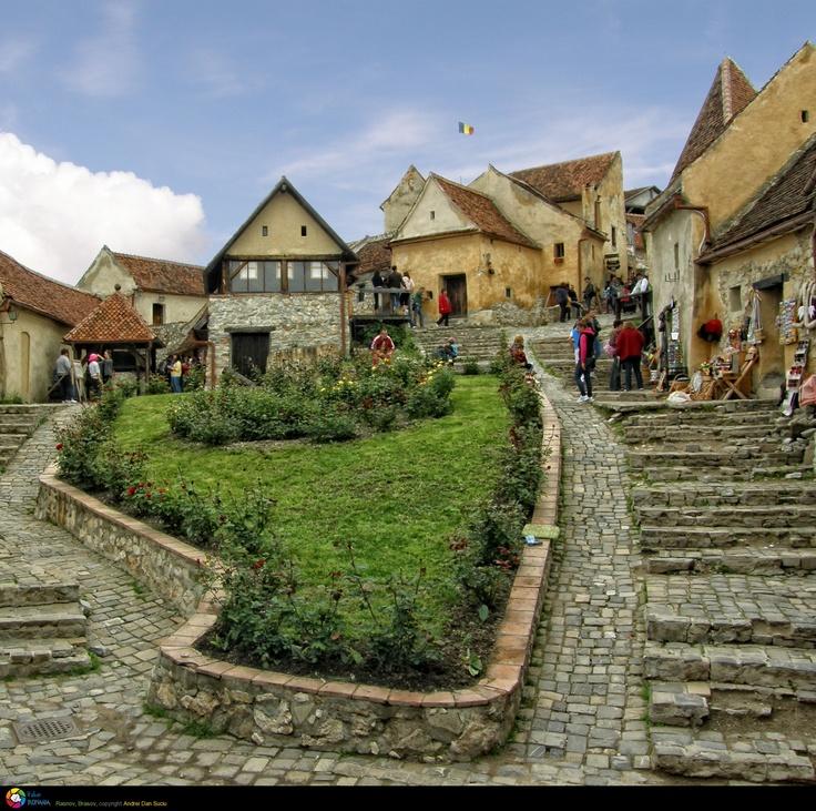 Cetatea Rasnov, Rasnov, Romania.