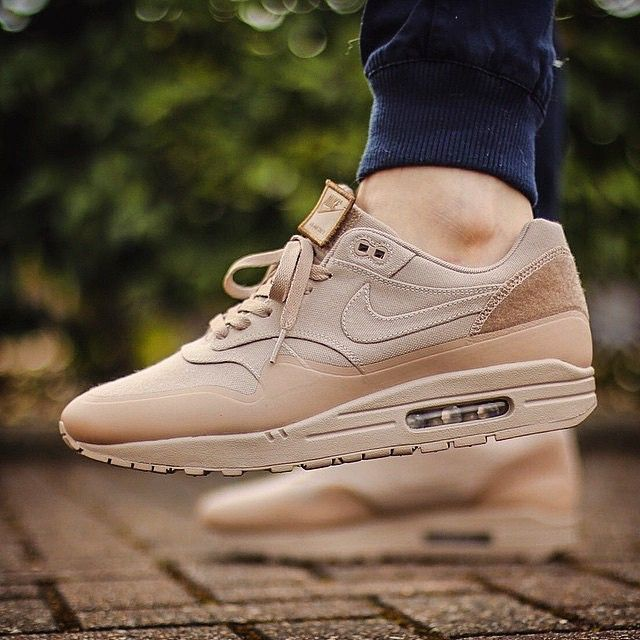 """""""S/O to @paddyj1 with this clean shot of his Air Max 1 SP Patch """"Sand"""" on foot."""" Photo taken by @crepsuk on Instagram, pinned via the InstaPin iOS App! http://www.instapinapp.com (03/17/2015)"""