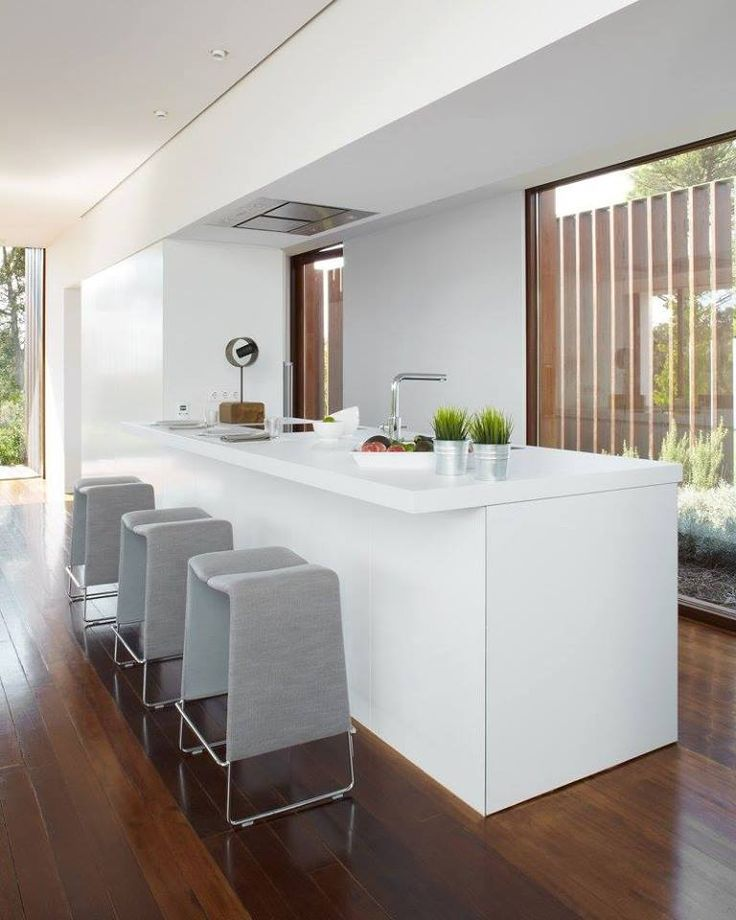 Our U0027Dream Kitchenu0027 Of The Day: Silestone Blanco Zeus Is The Perfect  Material