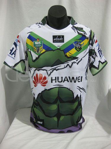 Canberra Raiders Hulk Jersey