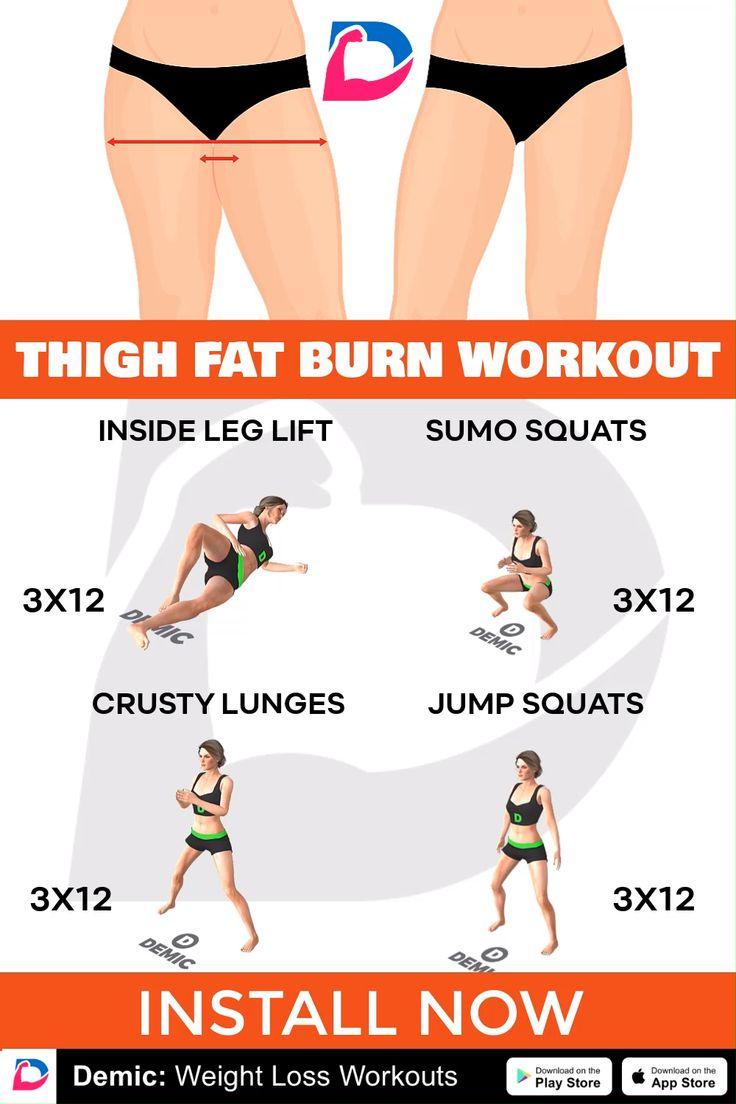 Thigh Fat Burn Workout