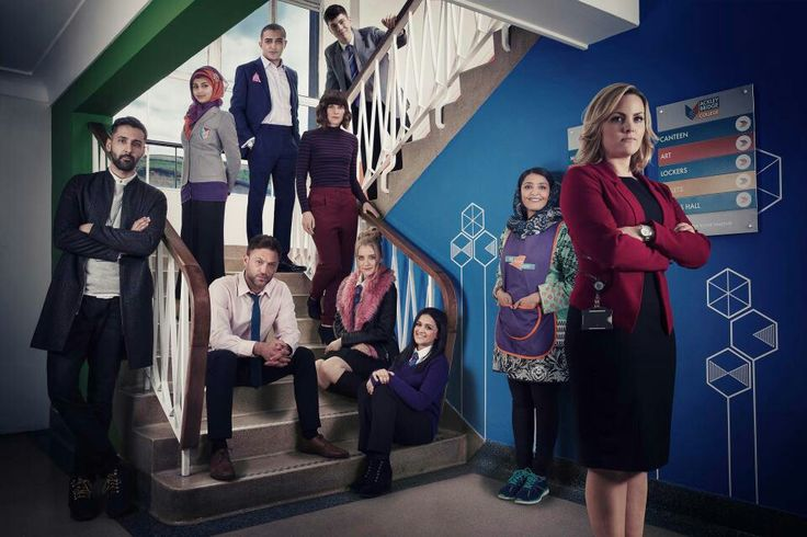 Ackley Bridge... halfway in to the very first episode and already love it!