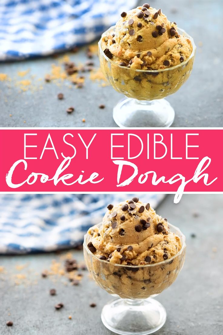 With this Edible Cookie Dough recipe in your pocket, you'll never feel the need to sneak nibbles fr… [Video]