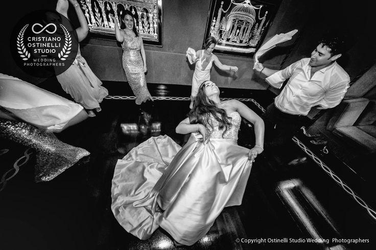 wedding disco at villa d'este