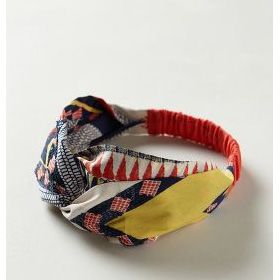 On our summer wishlist: a luxe turban-style headband