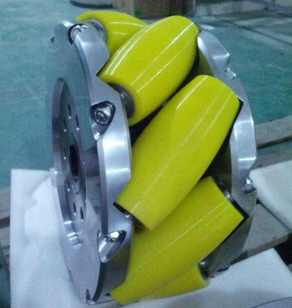 A Set Of 15inch (375mm) Heavy Duty Industrial Mecanum Wheel Nm375a. Nexus Industry Omni wheel and Mecanum wheel is heavy load Omni wheel and Mecanum wheel.