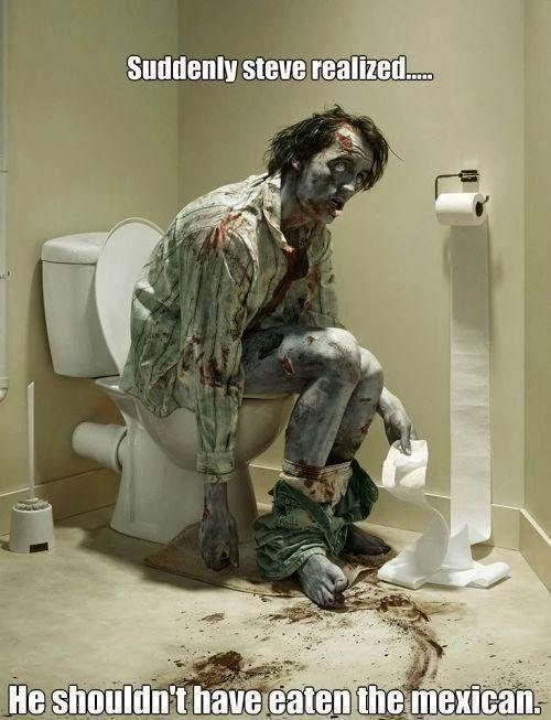 (via Toilet Zombie Shouldn't Have Eaten Mexican | Funny Joke Pictures)