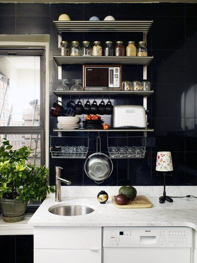 "15 Cheap and Pretty Ways to Spruce Up a Tiny Kitchen. Great, Inexpensive, and ""Renter-Friendly"" Ideas for your tiny home."