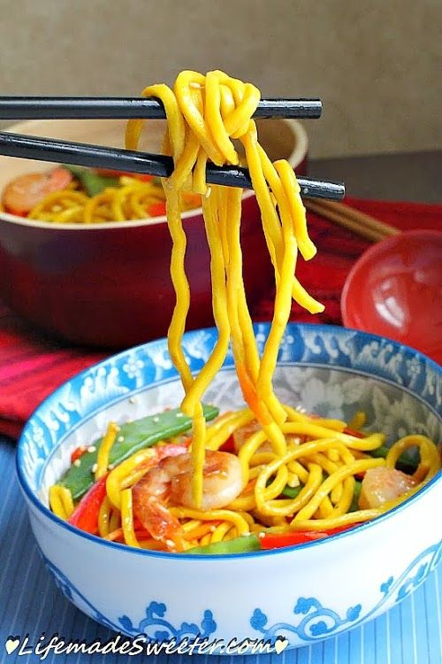 Happy Shrimp Longevity Noodles | Life Made Sweeter