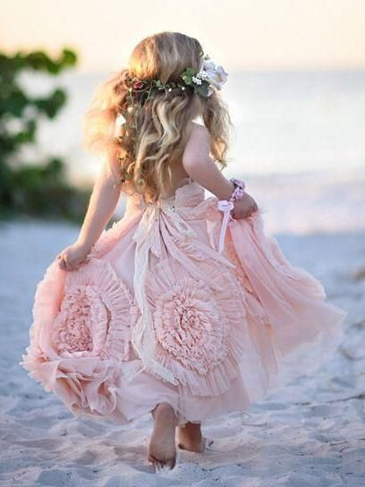 a376012e5da Cheap Blush Pink Flower Girl Dresses Cute Lilac Toddler Flower Girl Dresses  - SheerGirl