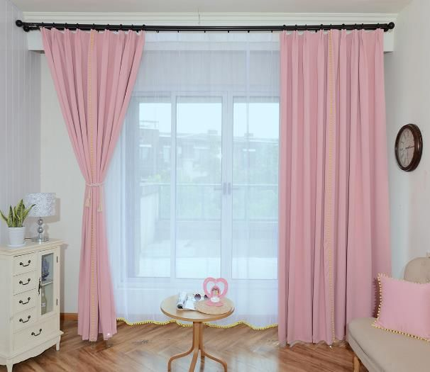 10 Top Pink Living Room Curtains