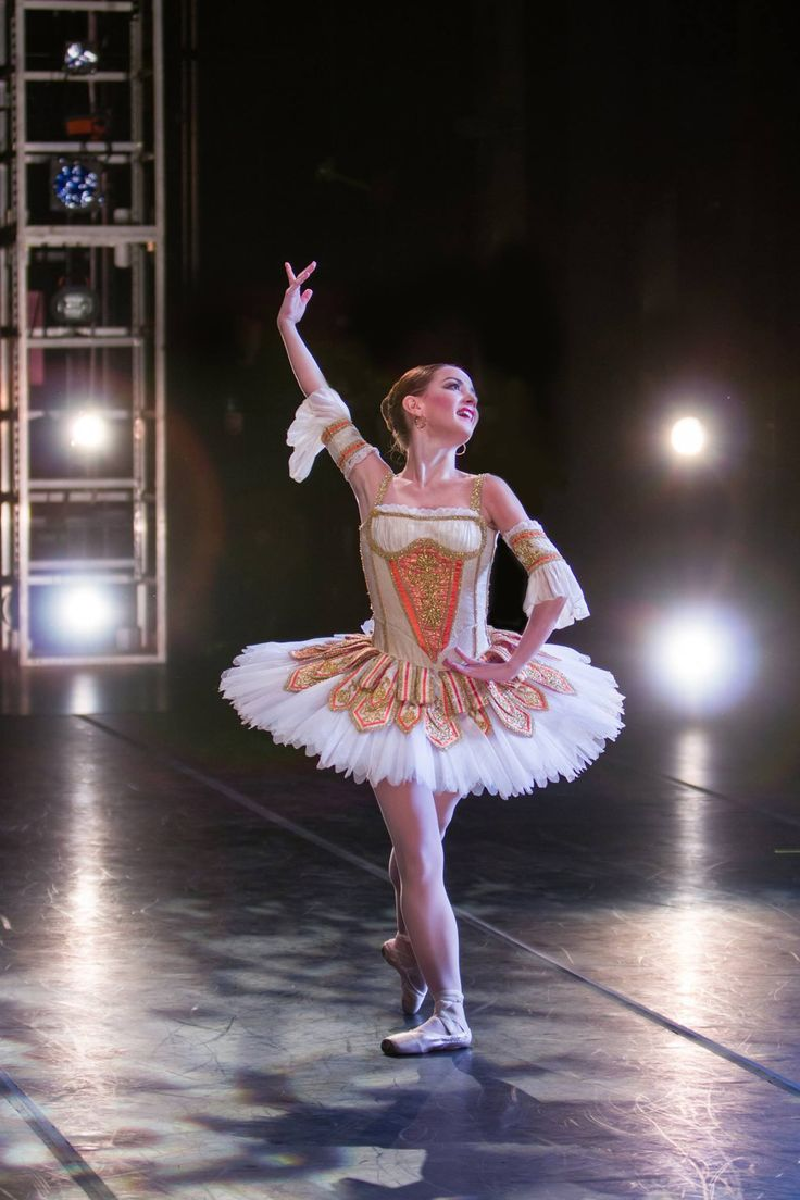 "Oklahoma City Ballet Soloist Milena Garcia in ""Don Quixote"" - Photo by Nancy Emerich"