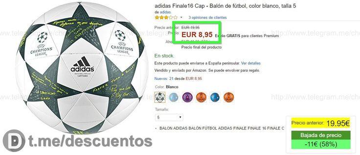 Balón Adidas Final Champions 16 por sólo 895 - http://ift.tt/2kiIjh1