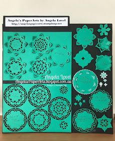 Stampin' Up! Eastern Palace Medallion Thinlits dies sample board.  The dies are available from here: https://www3.stampinup.com/ecweb/ProductDetails.aspx?productID=147209&dbwsdemoid=4011749  #angelaspaperarts  #easternpalace  #2017_18AnnualCatalogue