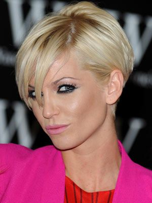 Sarah Harding Hair Cut - I think I can manage this!