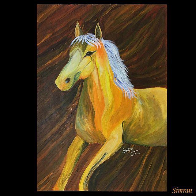 #acylic #horse