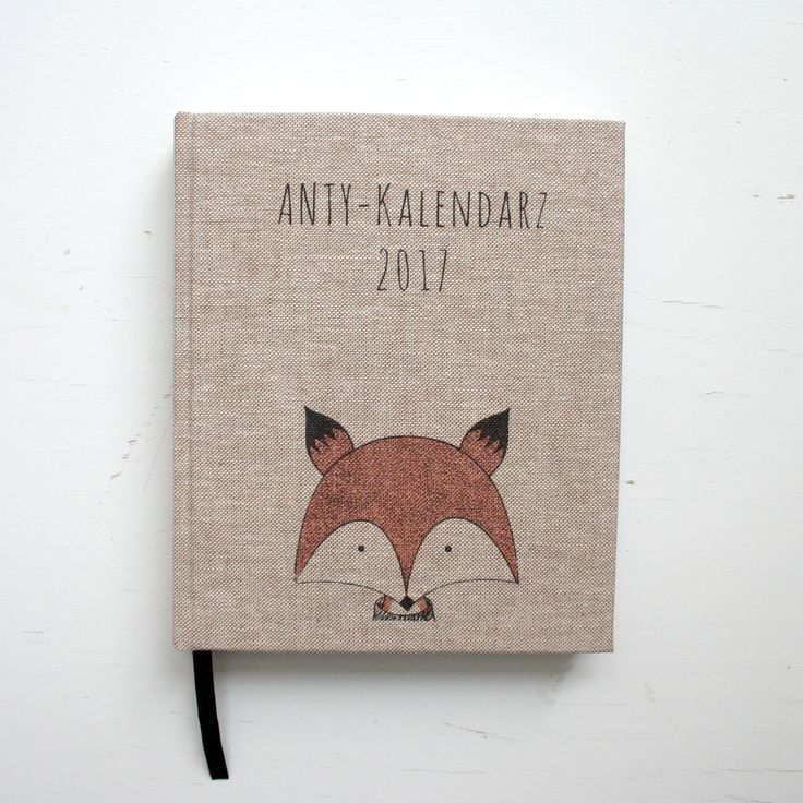 ANTY-Kalendarz 2017 #calendar #kalendarz #handmade #notebooksdesign