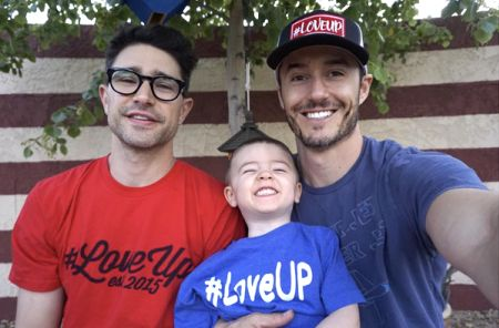 matt dallas blue hamilton (Love is love and family is family. <3)