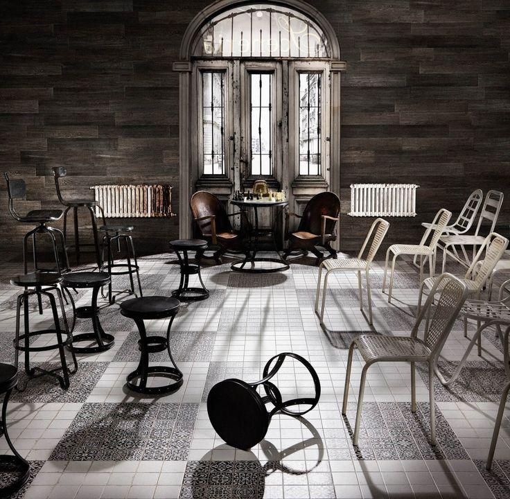Сегодня в журнале ARTCER: чем отличаются Пейсли, Дамаск, Вензеля и Меандр.  Актуальные декоры: коротко о каждом. На фото интерьер фабрики #Peronda. #artcermagazine #design #плитка #интерьер #журнал #керамогранит #ceramica #collections #style #tile #дизайн#стиль #interior #дамаск #кракелюр #вензель #пэйсли #меандр #дизайнинтерьера #буднидизайнера