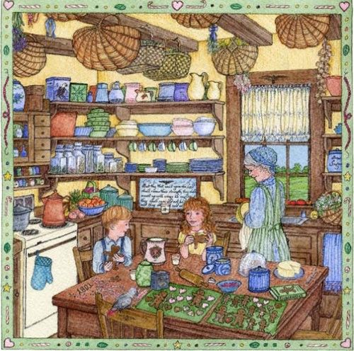 Grandmothers Kitchen: Gingerbread Men From Grandma's Kitchen