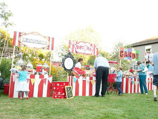 Best 25 carnival wedding ideas on pinterest circus wedding circus theme party and circus - Food booth ideas ...