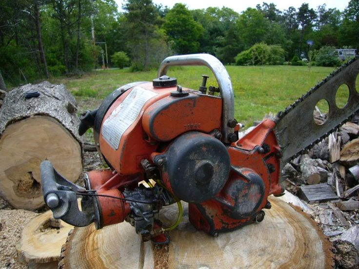 Best vintage chainsaws images on pinterest chainsaw