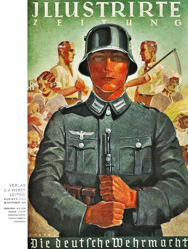 1936 November. German Illustrated magazine front cover