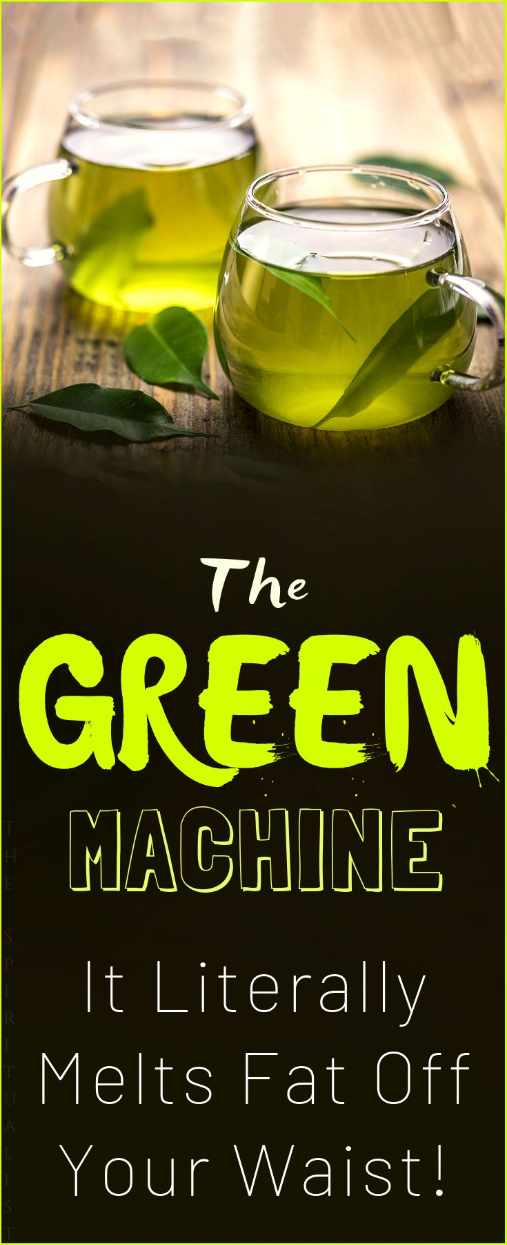 The 3-Ingredient Green Machine – It Literally Melts Fat of Your Waist – Natural Cures